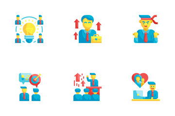 Business Motivation Icon Pack