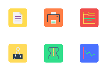 Business, Office And Marketing   Icon Pack