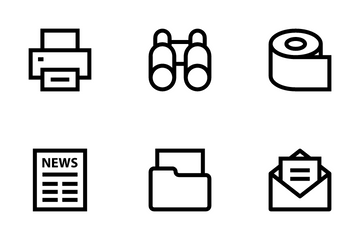 Business, Office & Internet 2 Icon Pack
