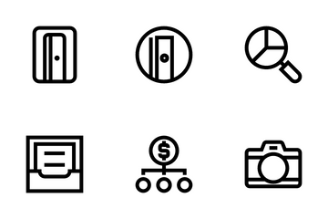 Business, Office & Internet 4 Icon Pack
