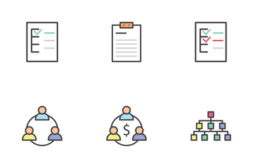 Business, Offices, And FInance Icon Pack
