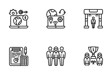 Business Organization Icon Pack