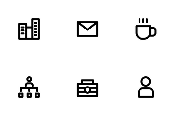 Business ( Outline ) Icon Pack