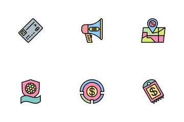 Business Part-3 Line Filled-2 Icon Pack