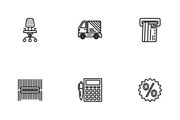 Business Part-4 Line-1 Icon Pack