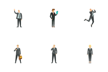 Business People Icon Pack