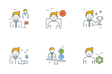 Business People Vol - 2 Icon Pack