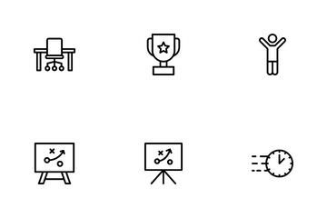 Business Planning Icon Pack