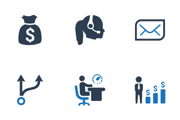 Business Planning & Management (Set-1) Icon Pack