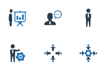 Business Planning & Management (Set-2) Icon Pack