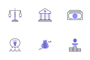 Business Presentation Icon Pack