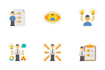 Business Recruitment Icon Pack