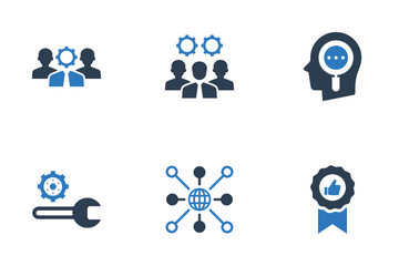 Business Seo Elements Icon Pack