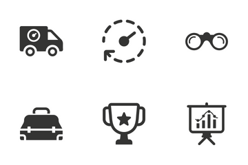 Business - Set 1 Icon Pack