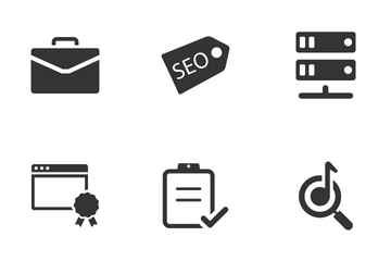 SEO And Web - Set 1 Icon Pack