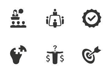 Business - Set 6 Icon Pack