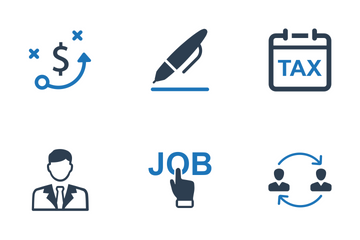Business - Set 8 Icon Pack