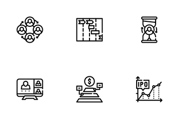 Business Situations Icon Pack