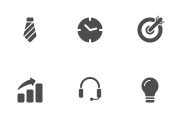 Business Solid Icon Pack