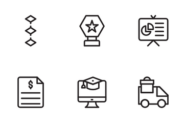Business Strategy And Banking Finance Icon Pack