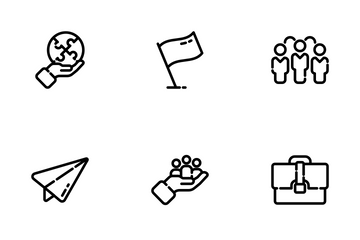 Business & Teamwork Icon Pack
