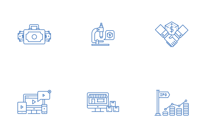 Business Terms Icon Pack