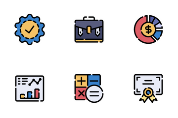 Business Training Icon Pack