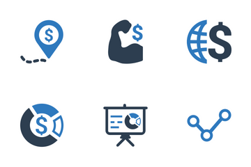 Business Ultimate - Blue Series Icon Pack