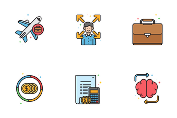 Business Vol - 1 Icon Pack