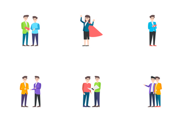 Businesspersons, Office Workers Icon Pack