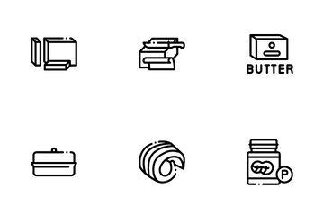 Butter Or Margarine Icon Pack