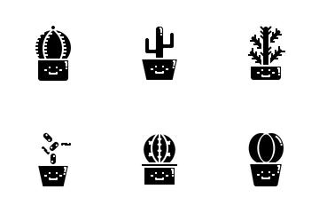 Cactus Icon Pack