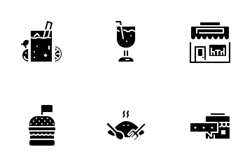 Cafe And Food Icon Pack