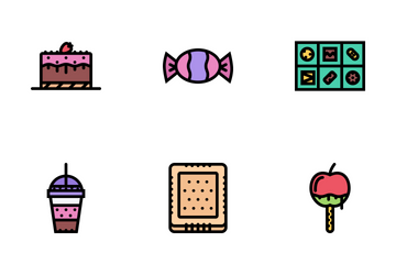 Cafe Colored Icon Pack