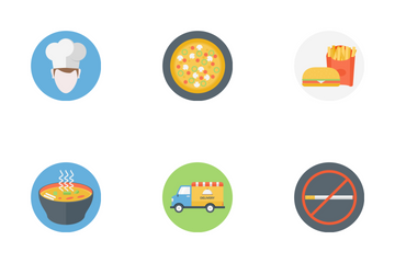 Cafe & Restaurant Icon Pack