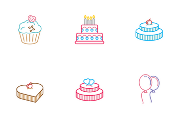Cake Icon Pack