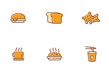 Cake And Bakery Icon Pack