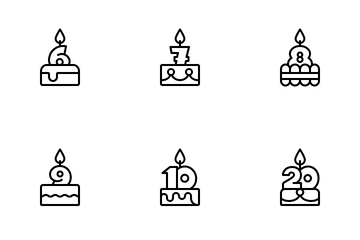 Cakes Icon Pack