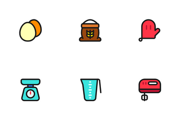 Cakes & Bakery Icon Pack