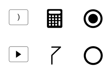 Calculator Functions  Icon Pack
