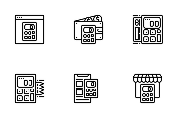 Calculator Tools Icon Pack