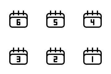 Calendar Icon Pack