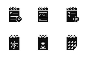Calendar And Date Icon Pack