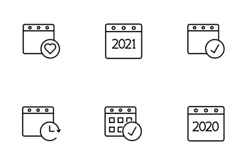 Calendar & Date Icon Pack