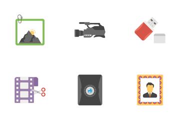 Camera Equipment Icon Pack
