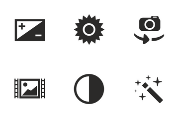 Camera Functions  Icon Pack
