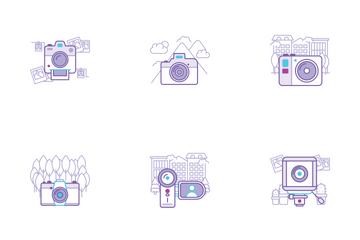 Camera Icons Icon Pack