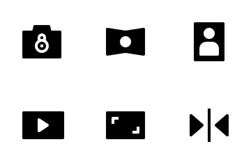 Camera Interface Icon Pack