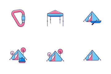 Camping Icon Pack