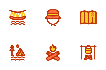 Camping & Holiday Icon Pack